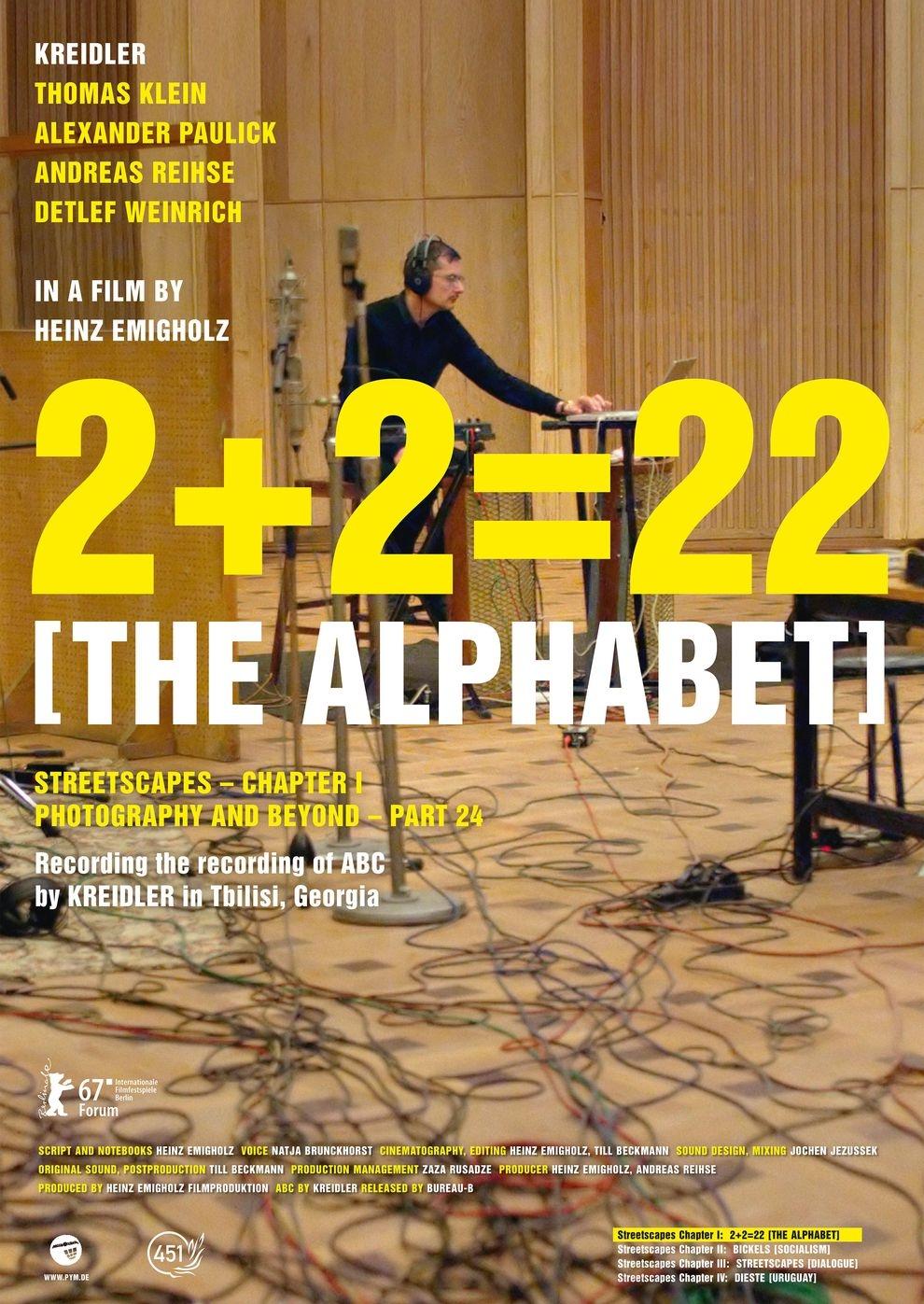 2+2=22 (The Alphabet) (Poster)
