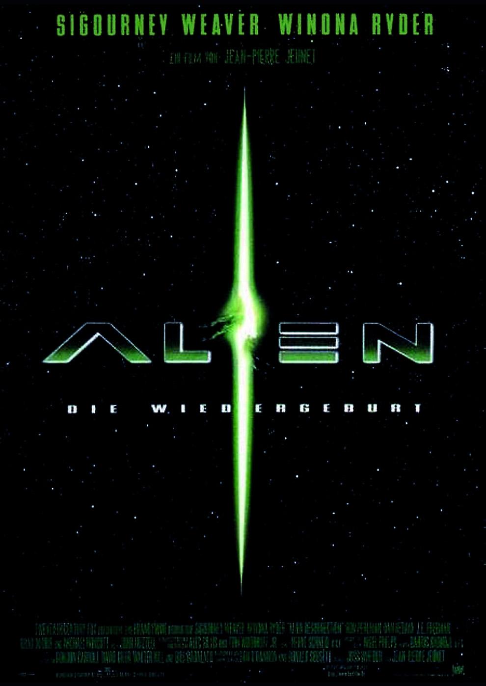 Alien - Die Wiedergeburt (Poster)