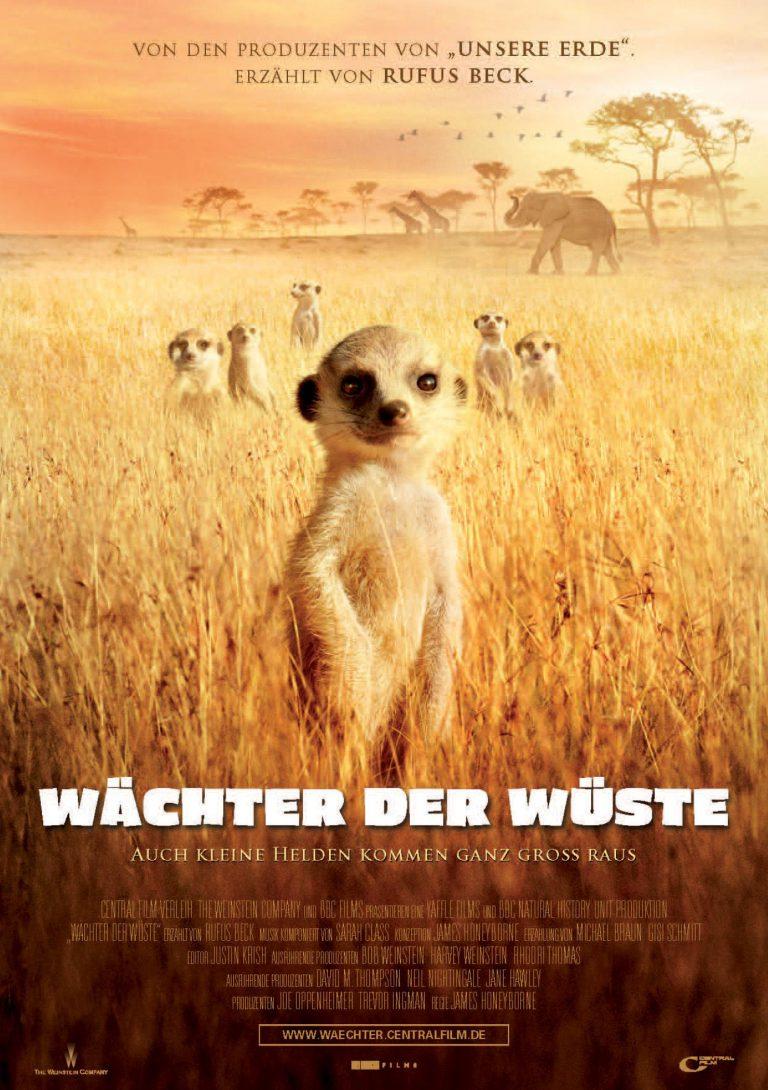 Wächter der Wüste (Poster)