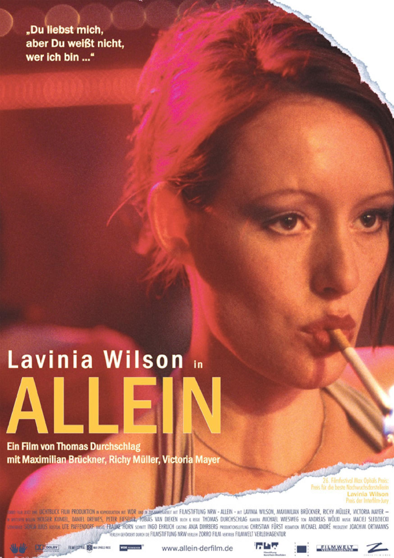"""""""Allein"""" (Poster)"""