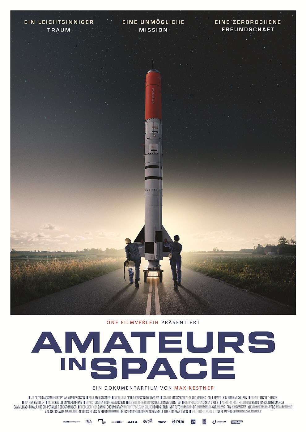 Amateurs In Space (Poster)