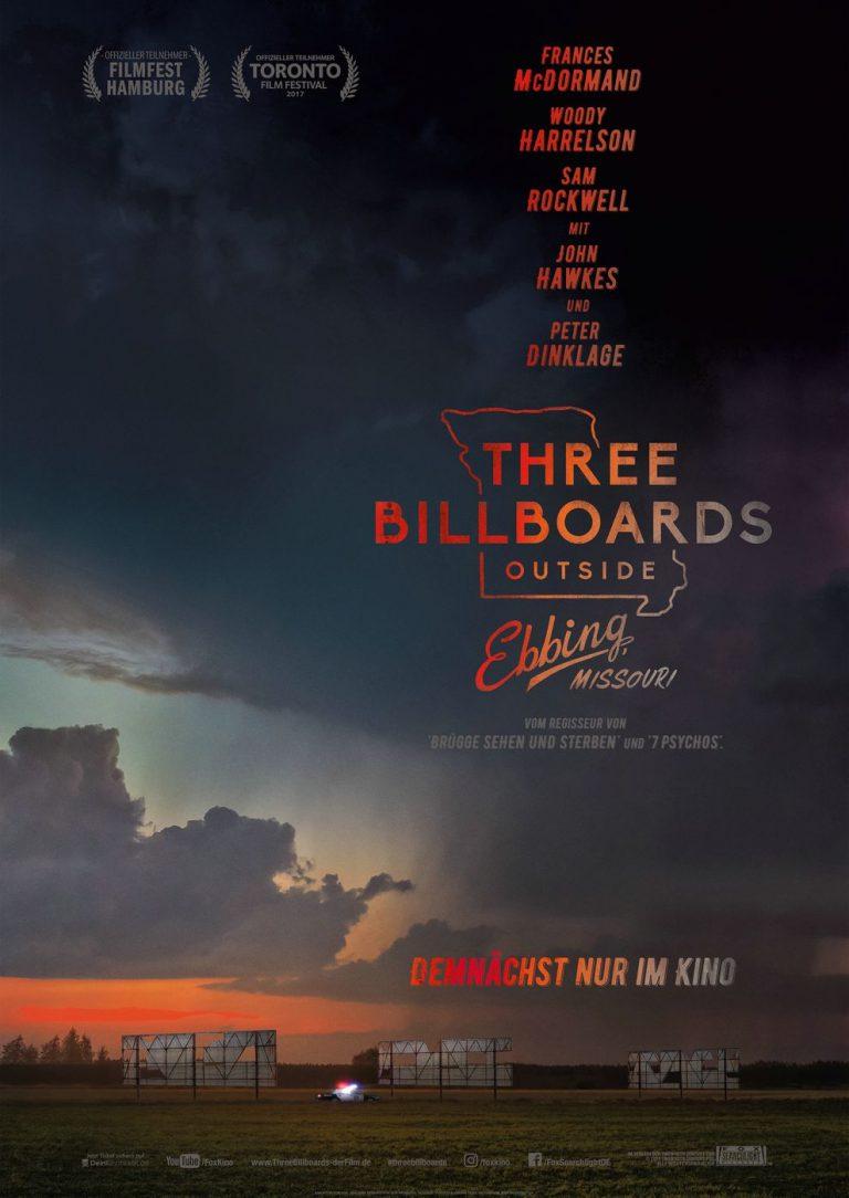Three Billboards outside Ebbing, Missouri (Poster)