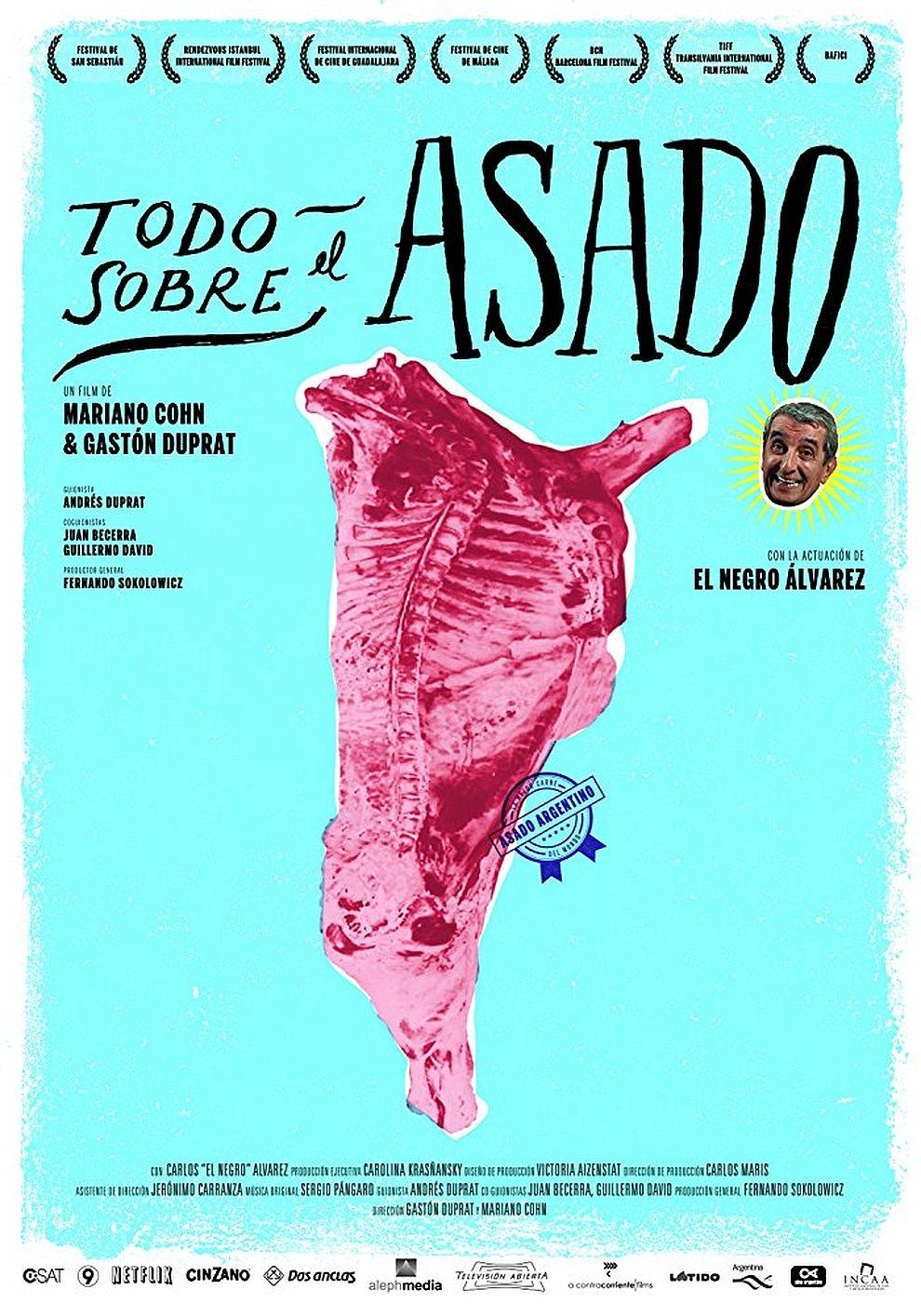Asado - Über die Kunst des Grillens (Poster)