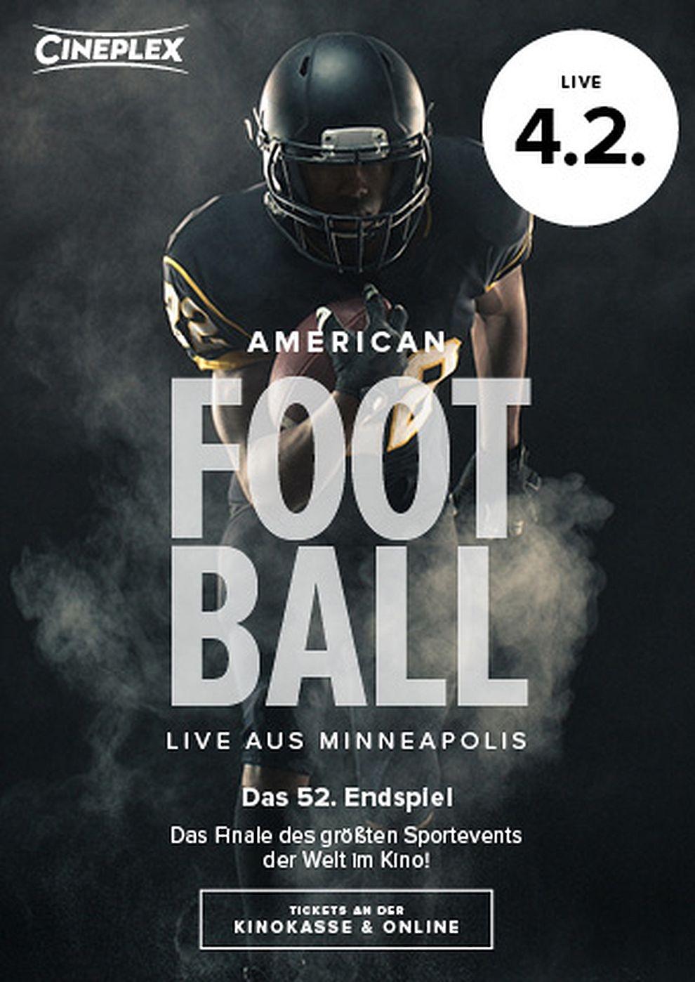 American Football Sunday 2018 (Poster)