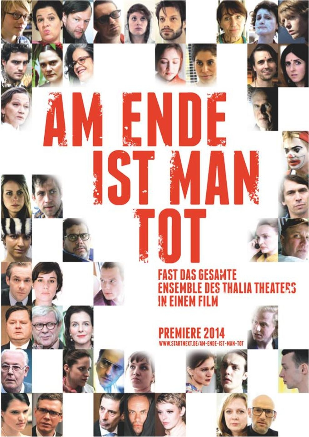 Am Ende ist man tot (Poster)