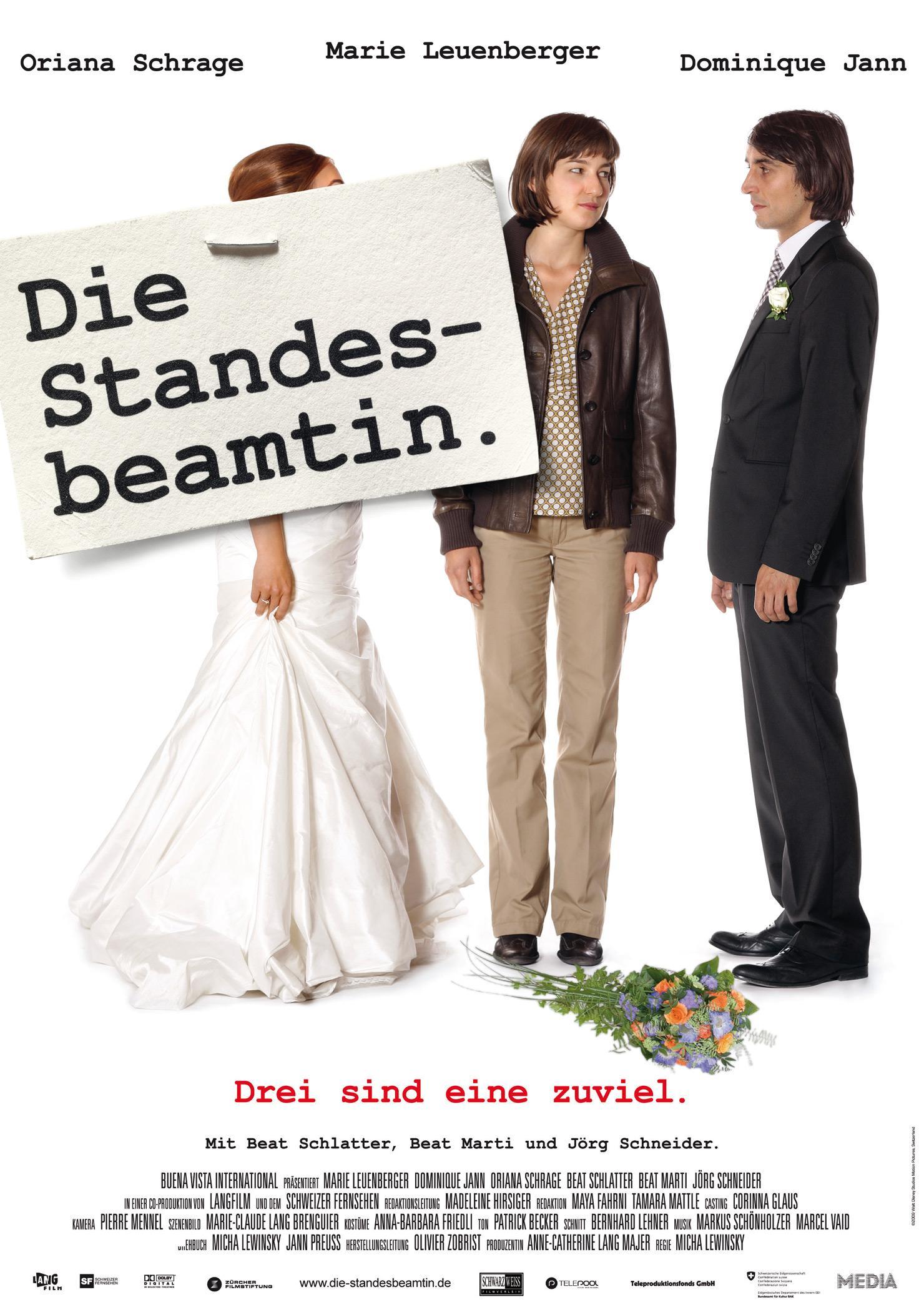 Die Standesbeamtin (Poster)