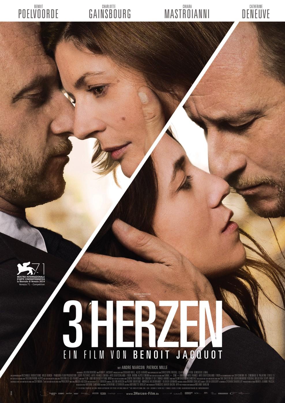 3 Herzen (Poster)