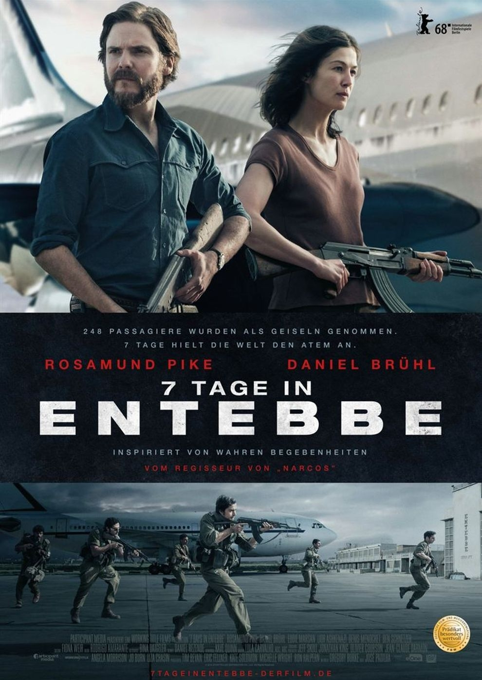 7 Tage in Entebbe (Poster)