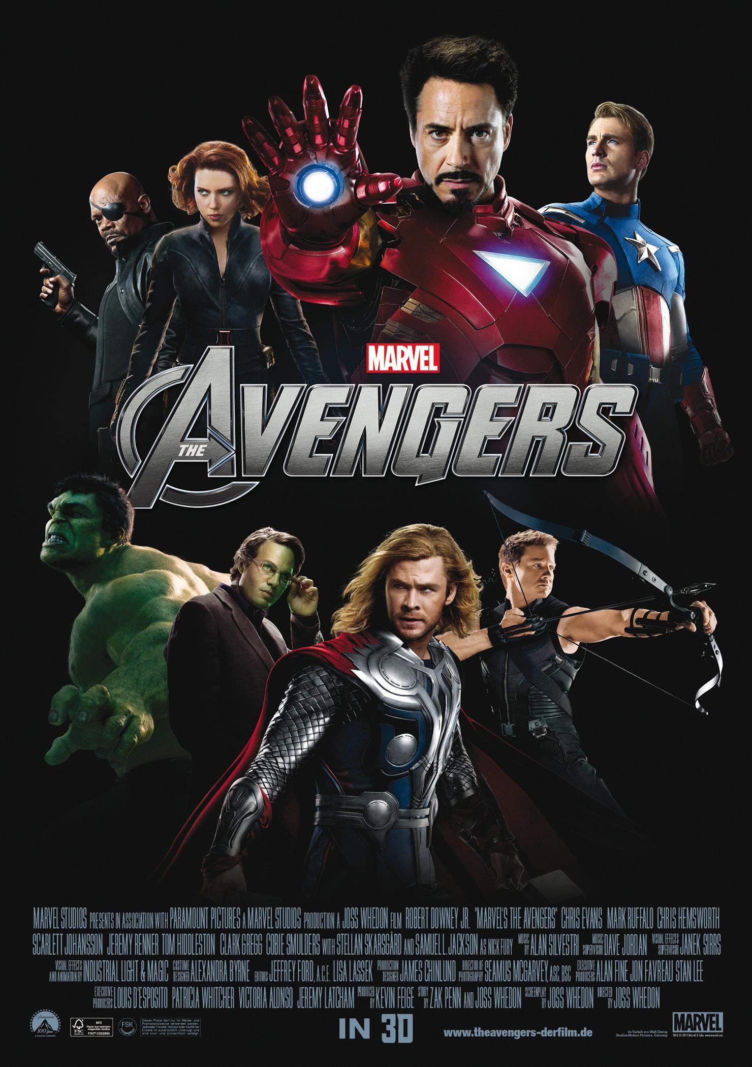 Marvel's The Avengers (Poster)