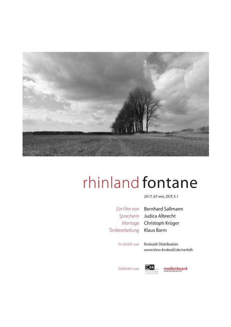 Oderland. Fontane (Poster)
