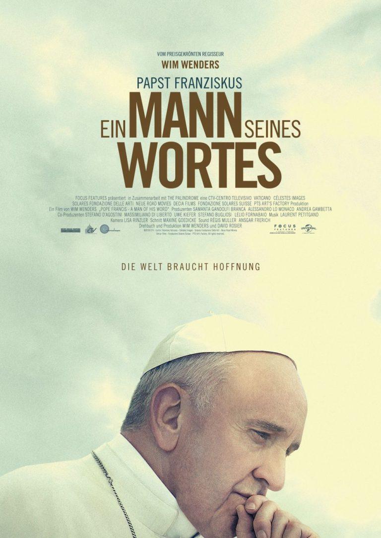 Papst Franziskus - Ein Mann seines Wortes (Poster)