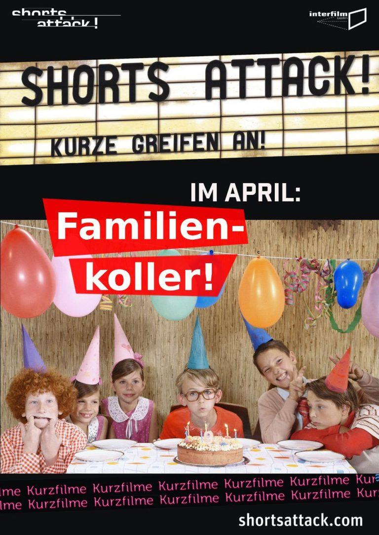 Shorts Attack: Familienkoller (Poster)