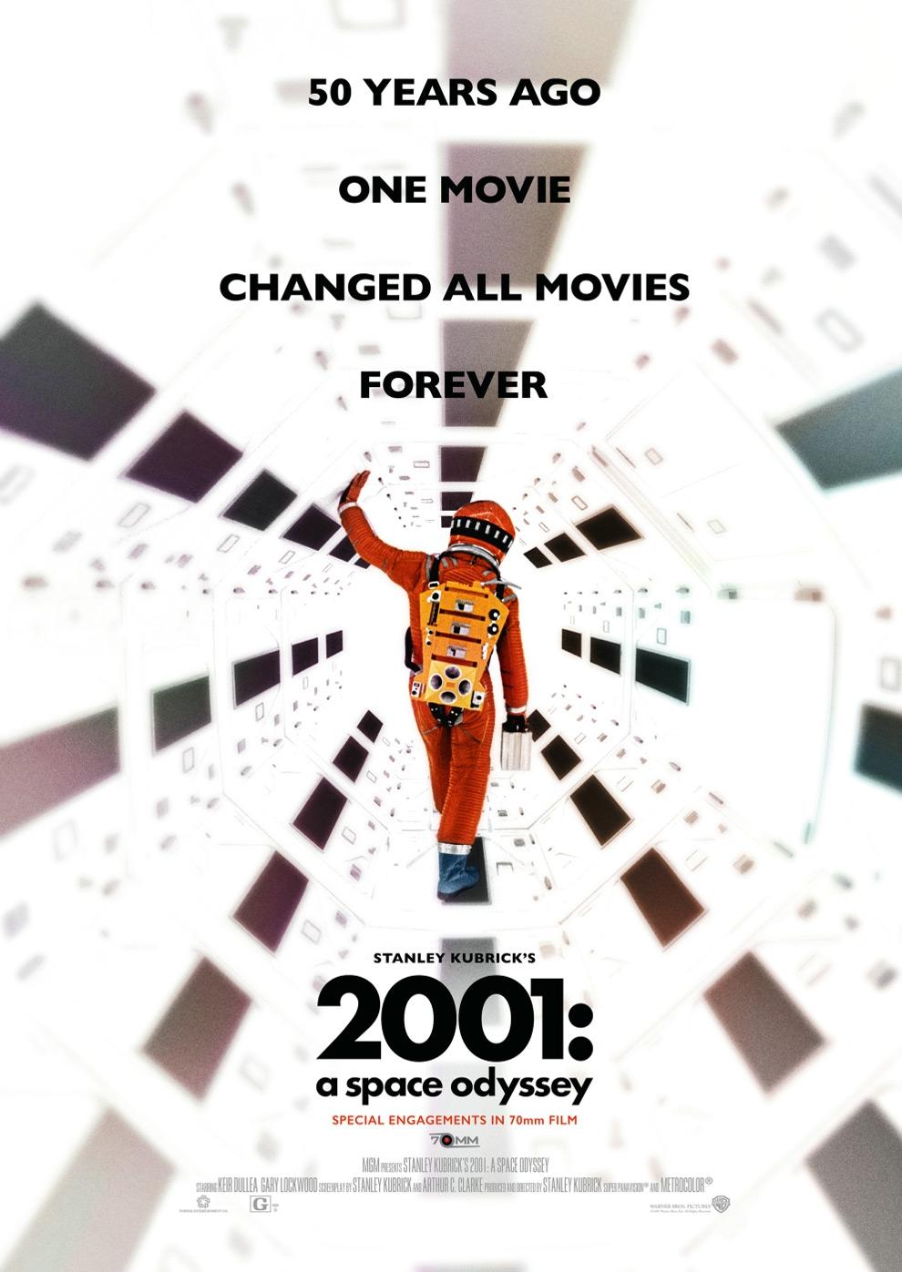 2001 - Odyssee im Weltraum: Re-Release (Poster)