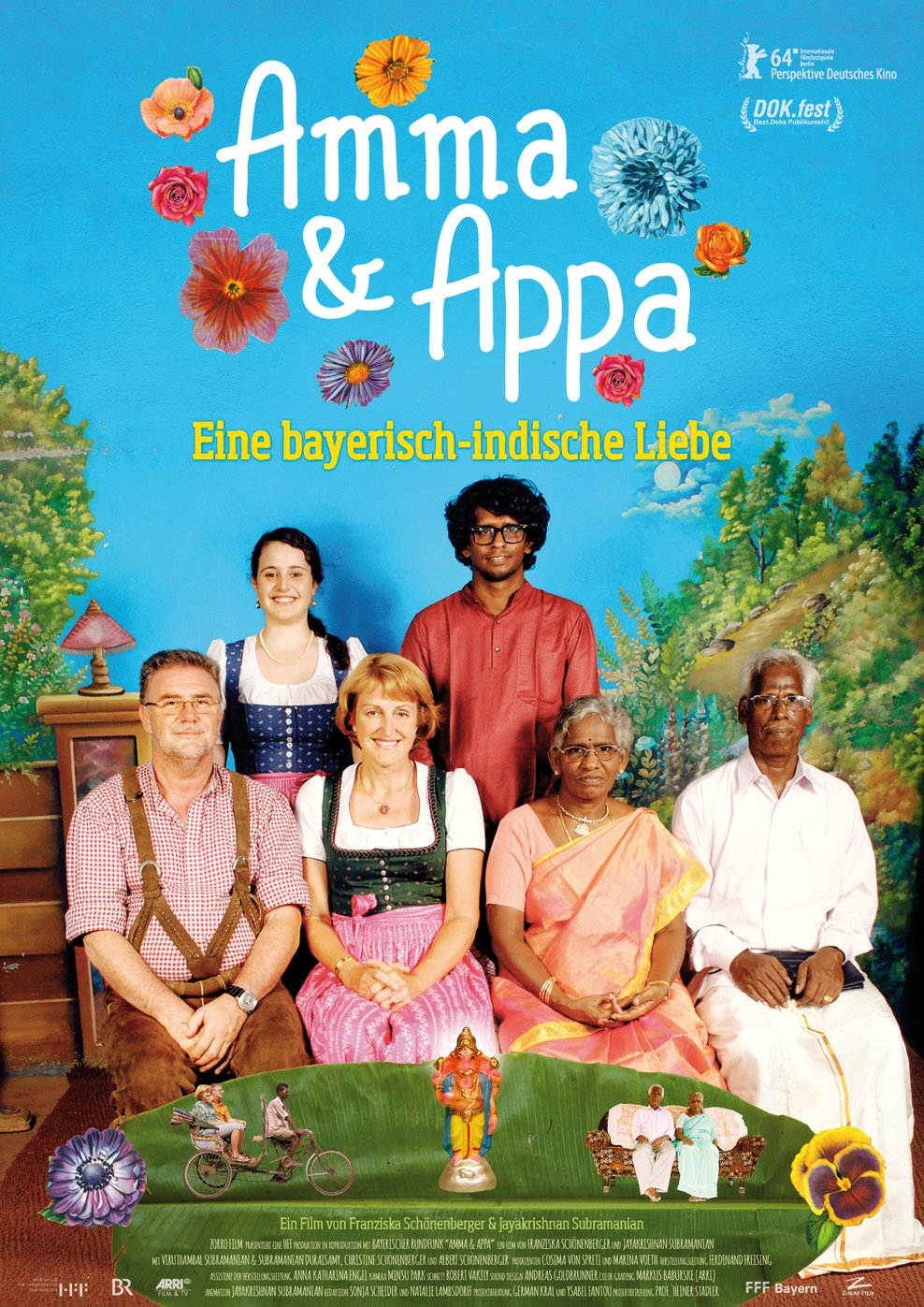 Amma & Appa - Eine bayerisch-indische Liebe (Poster)
