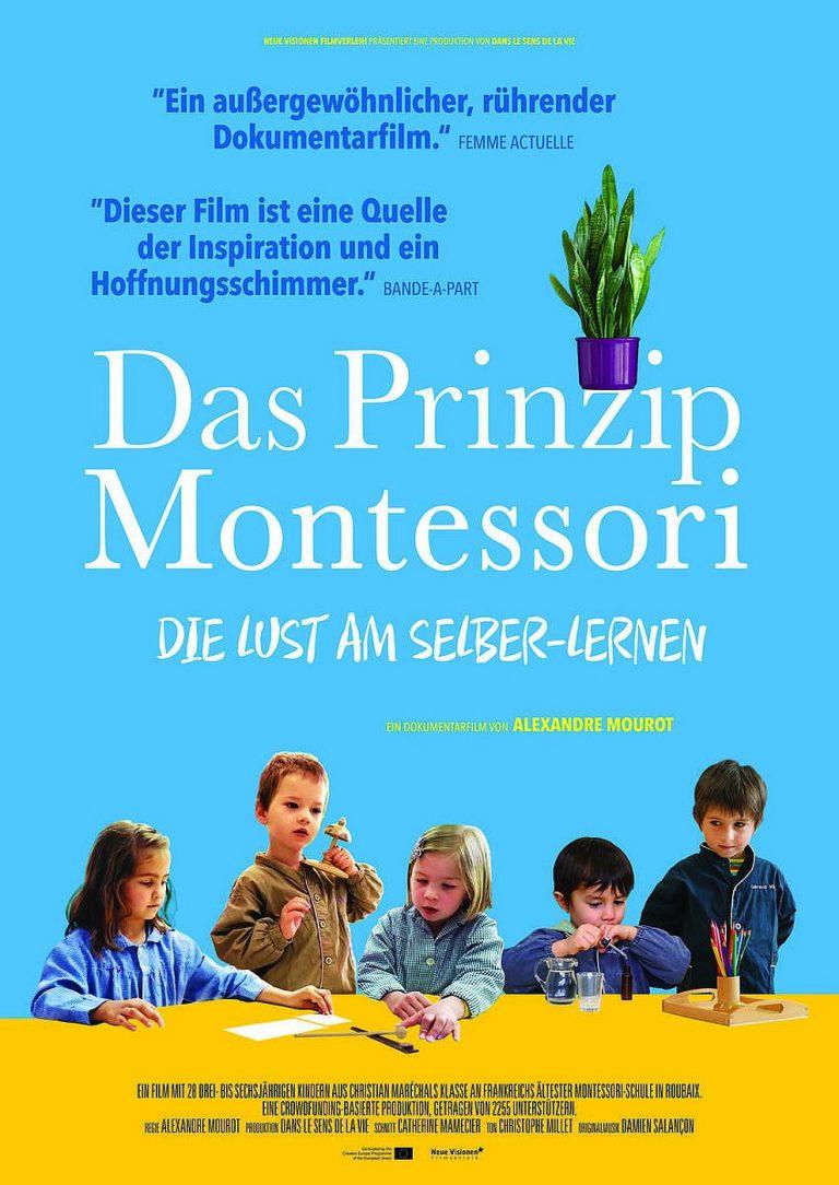 Das Prinzip Montessori - Die Lust am Selber-Lernen (Poster)