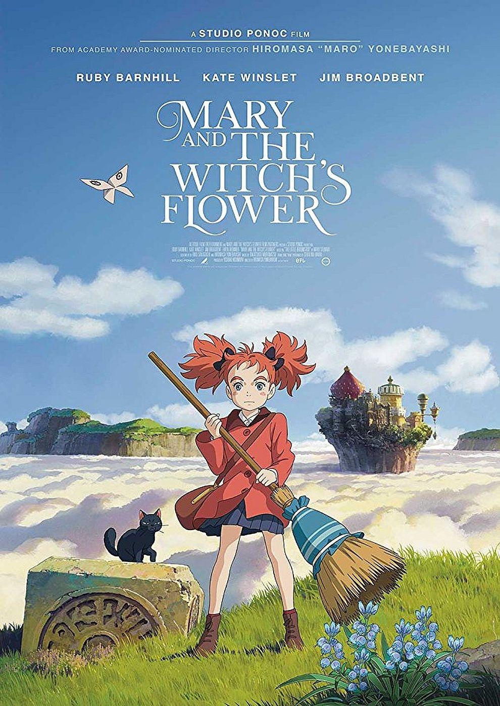 Mary und die Blume der Hexe (Poster)