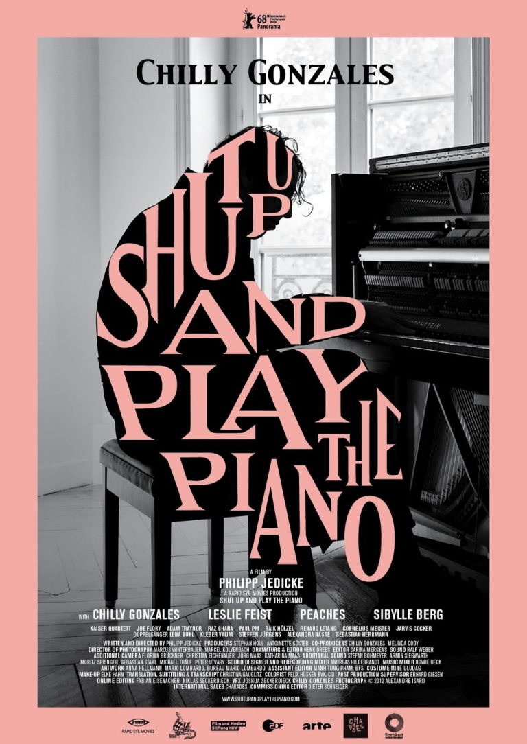 Shut up and play the Piano (Poster)