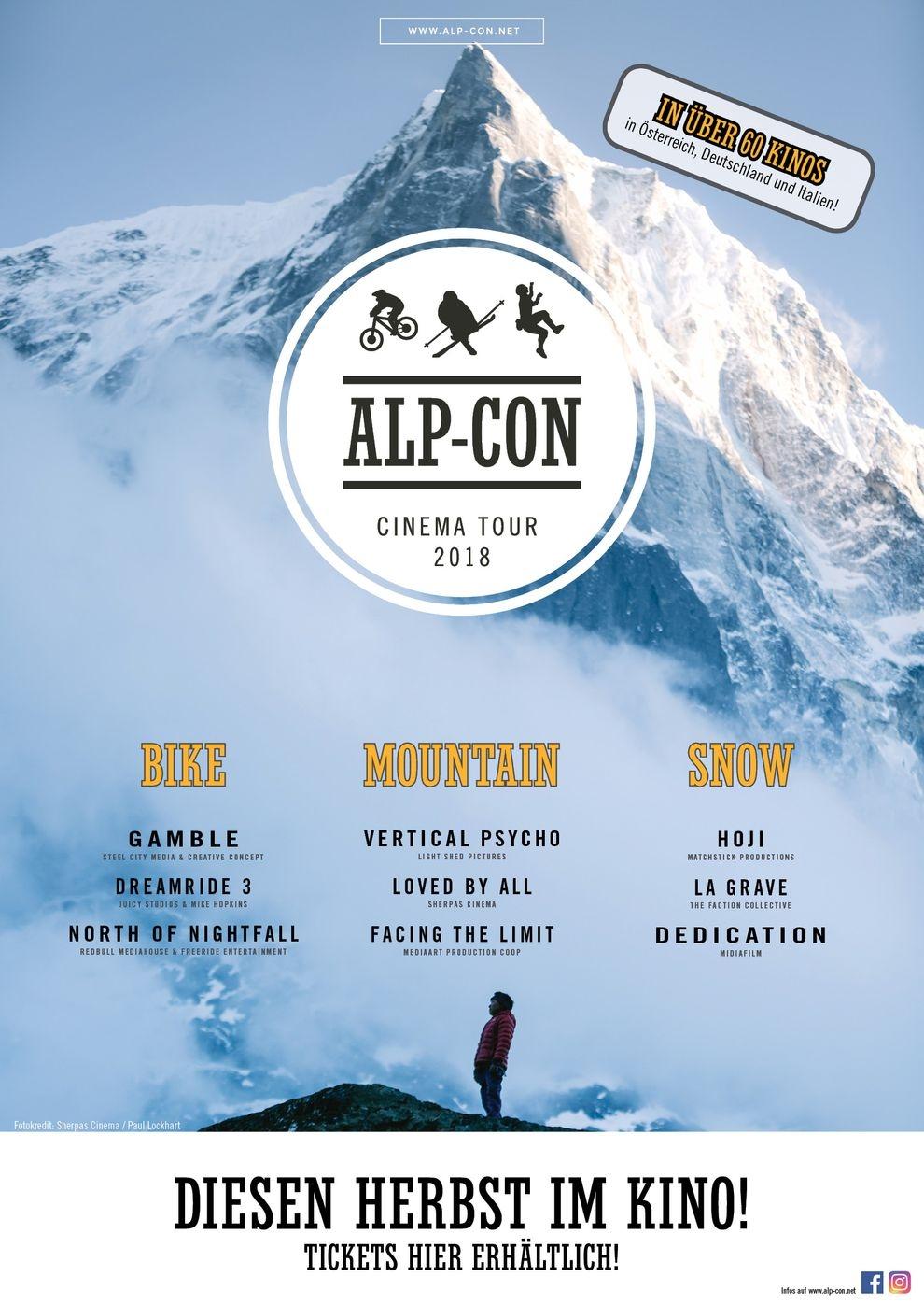 Alp-Con CinemaTour 2018: SNOW (Poster)