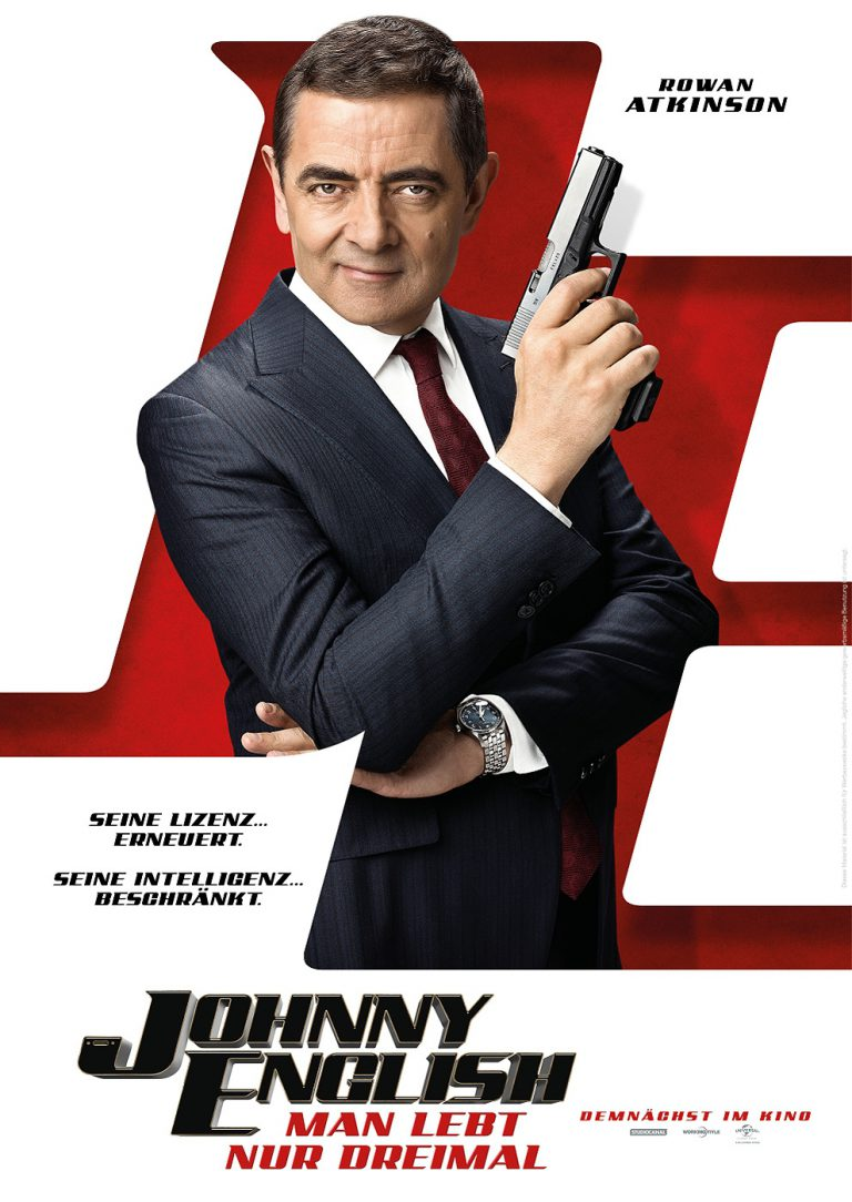Johnny English - Man lebt nur dreimal (Poster)