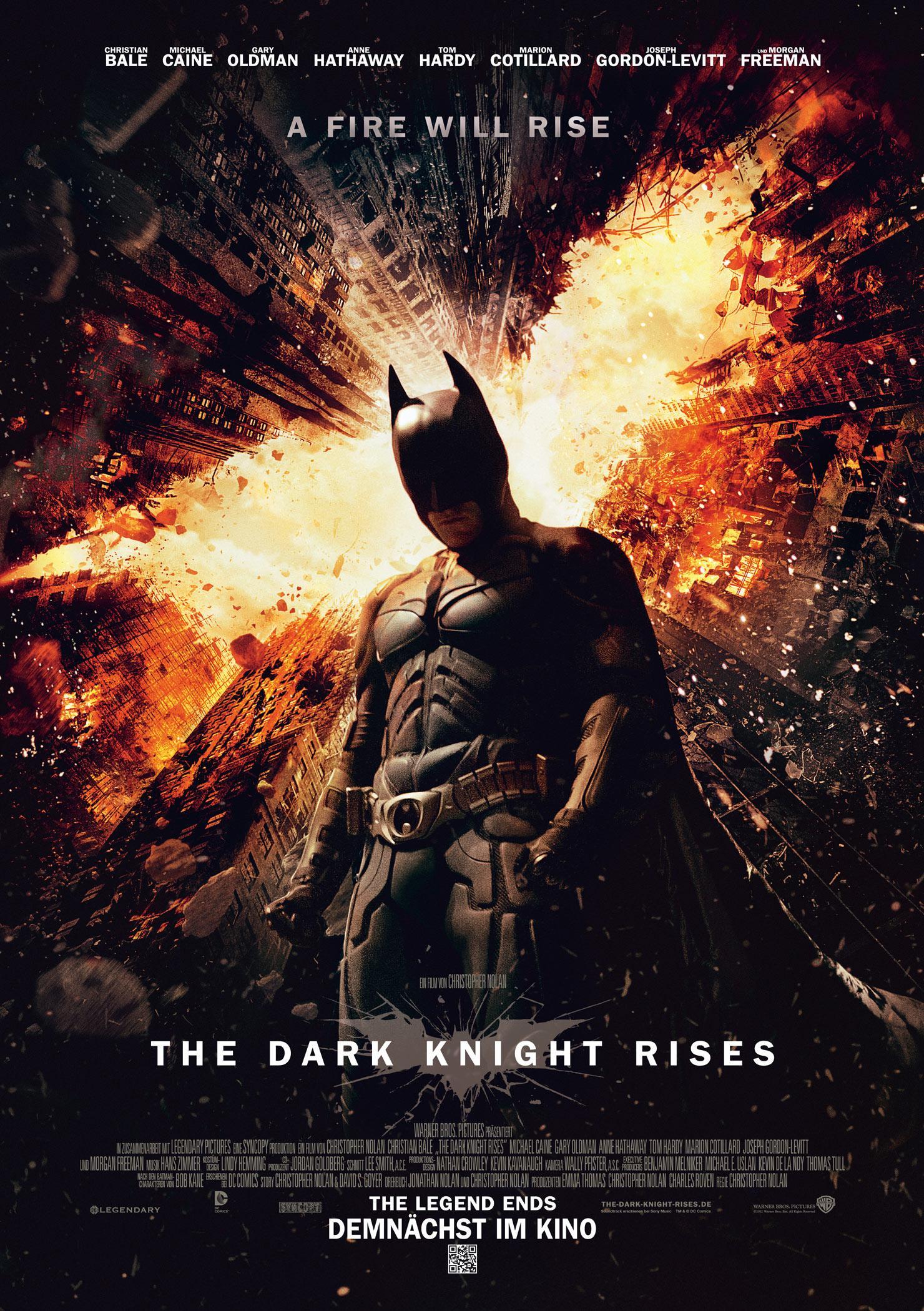 The Dark Knight Rises (Poster)