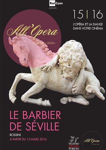 All Opera 2015/2016: Der Barbier von Sevilla - Teatro di Torino (Poster)