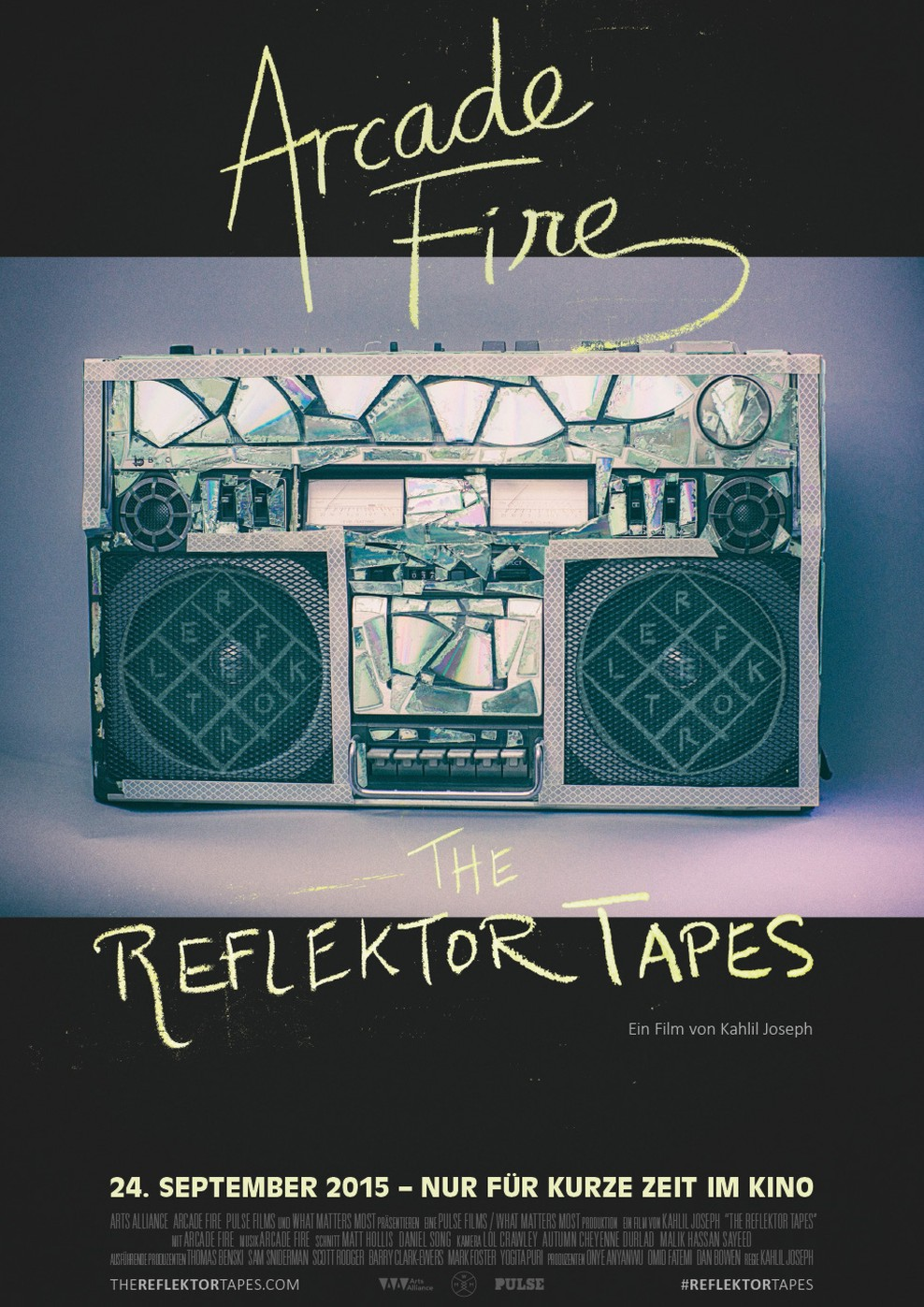 Arcade Fire: The Reflektor Tapes (Poster)