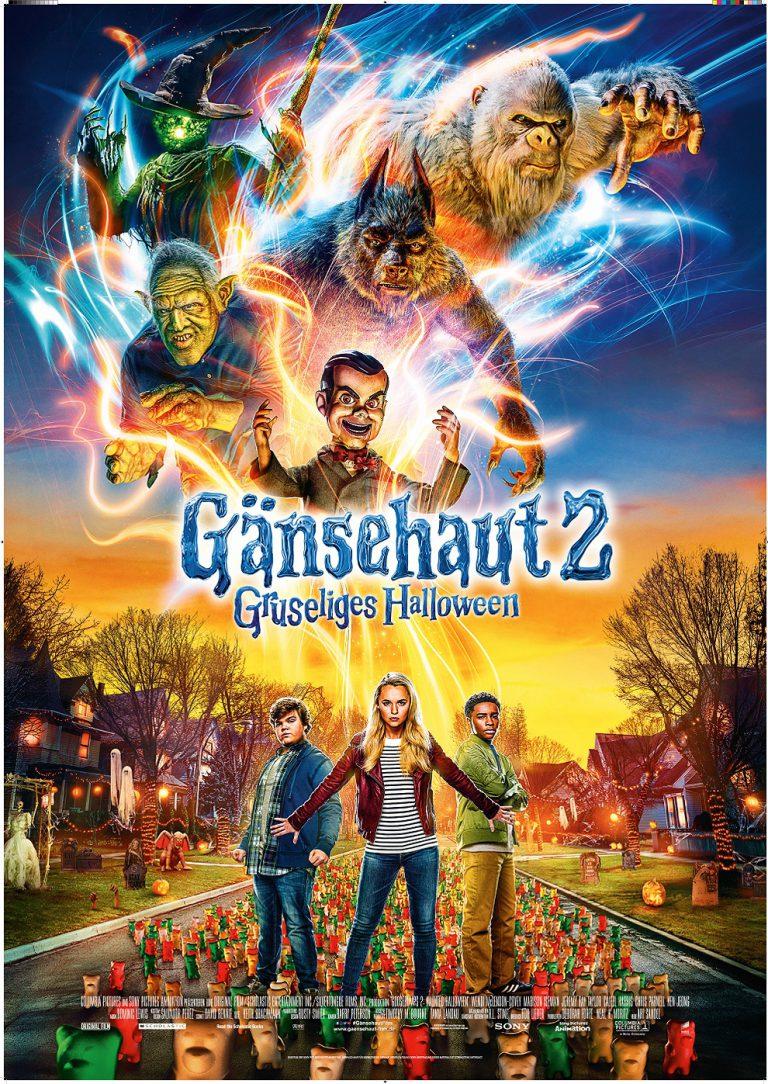 Gänsehaut 2: Gruseliges Halloween (Poster)