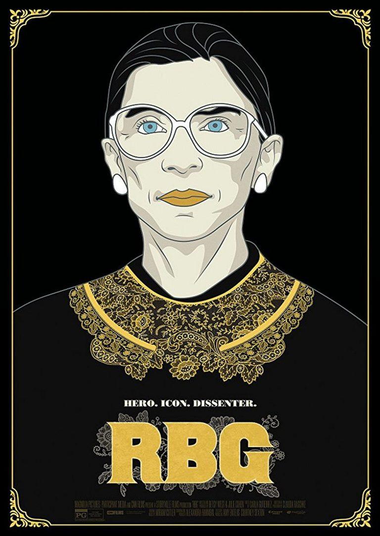 RBG - Ein Leben für die Gerechtigkeit (Poster)