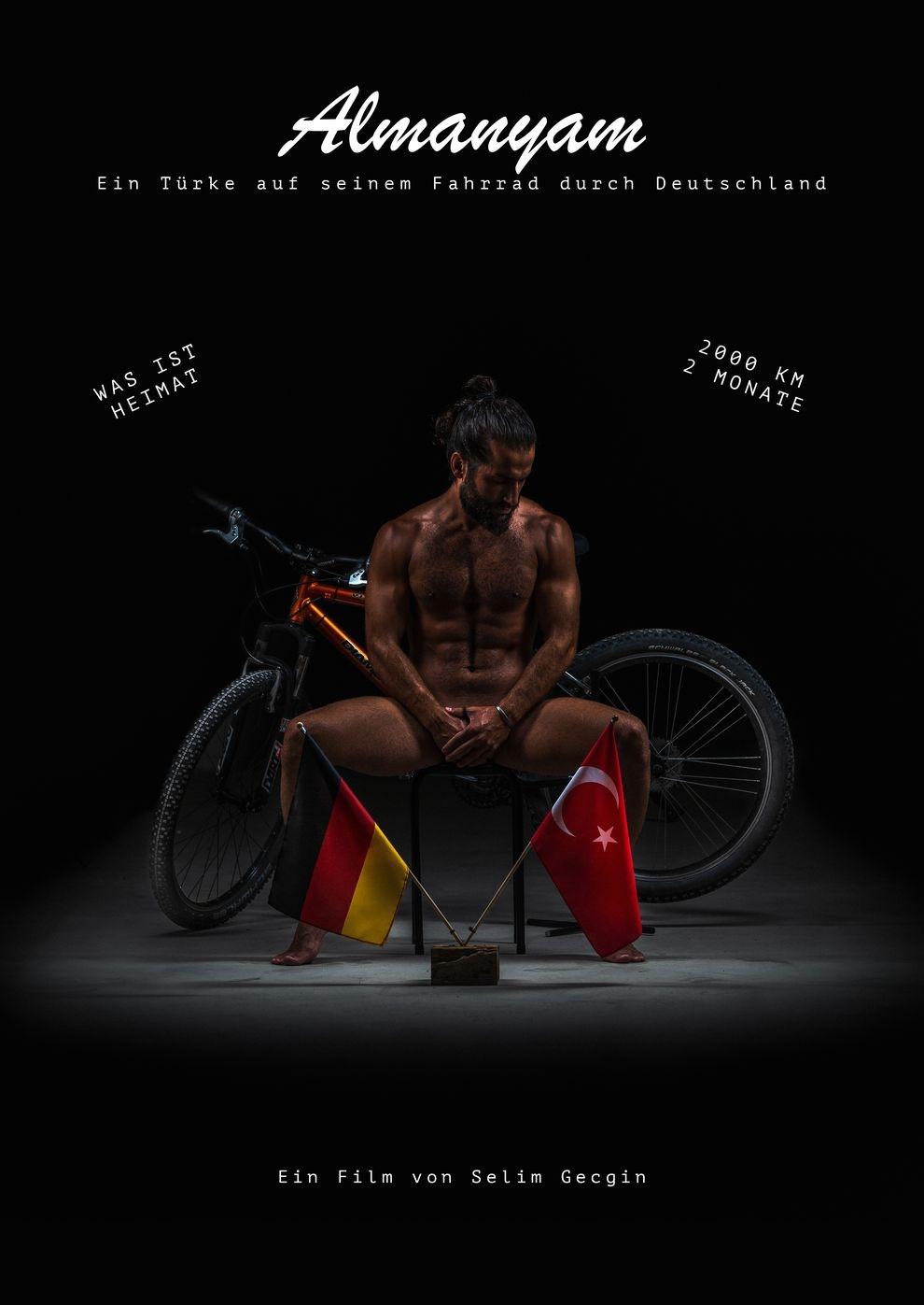 Almanyam - Ein Türke auf seinem Fahrrad durch Deutschland (Poster)