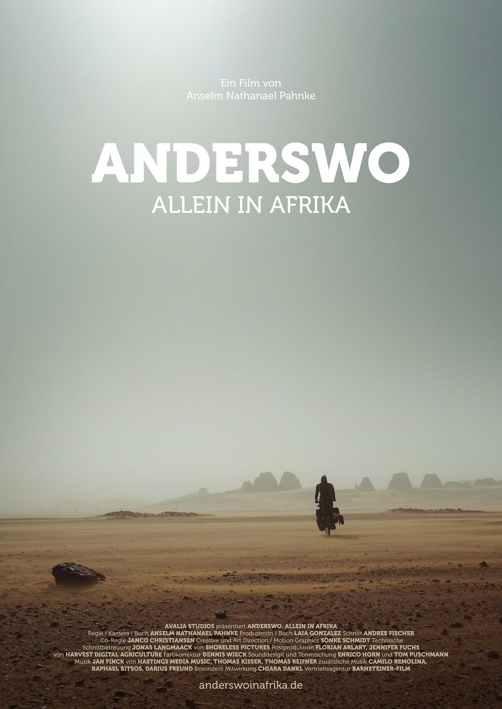 Anderswo. Allein in Afrika (Poster)