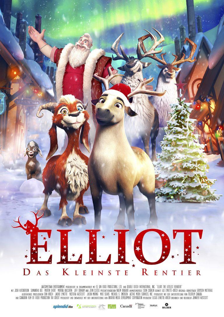 Elliot - das kleinste Rentier (Poster)