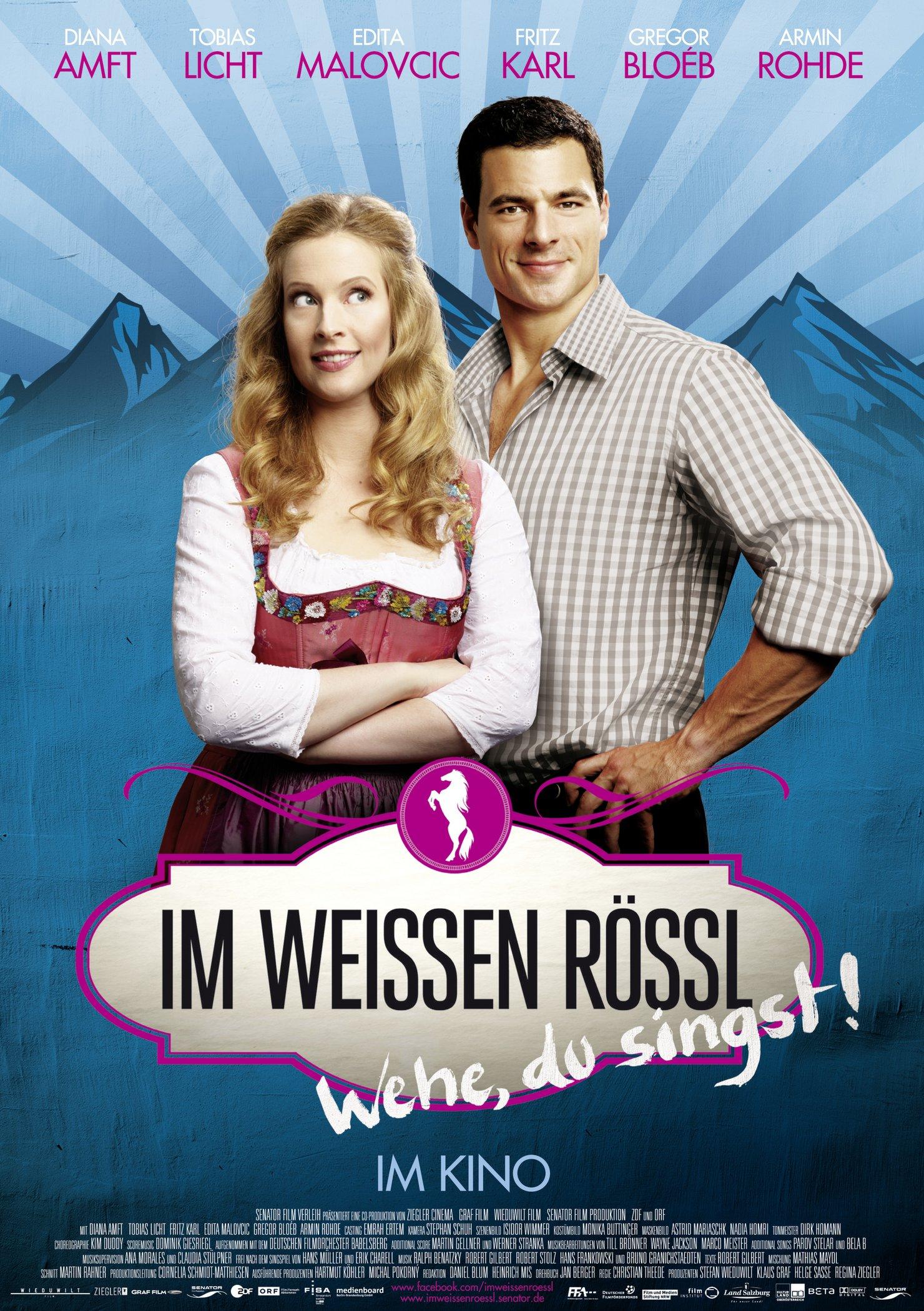 Im weißen Rössl - Wehe, du singst! (Poster)