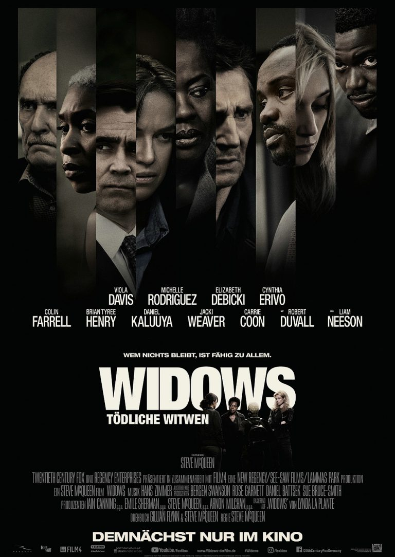 Widows - Tödliche Witwen (Poster)