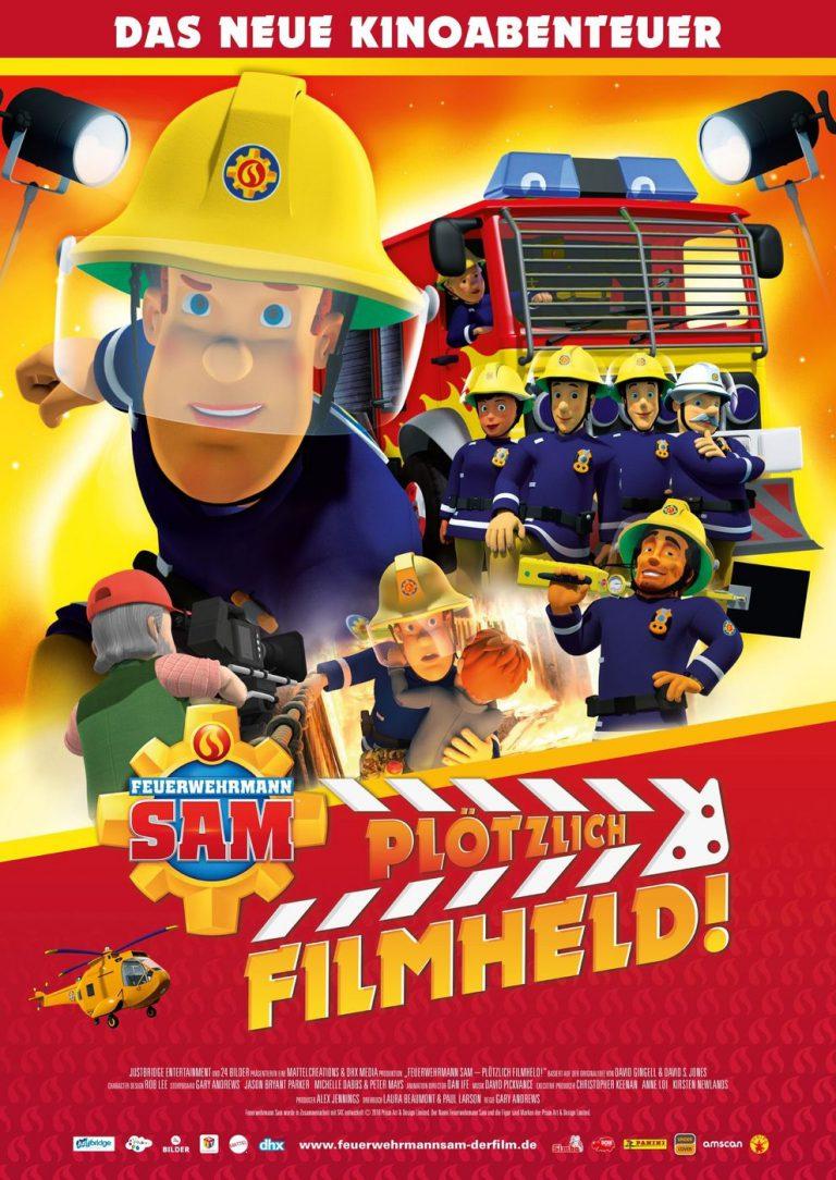 Feuerwehrmann Sam - Plötzlich Filmheld! (Poster)