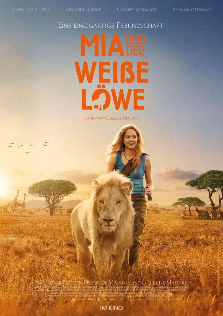 Mia und der weiße Löwe (Poster)