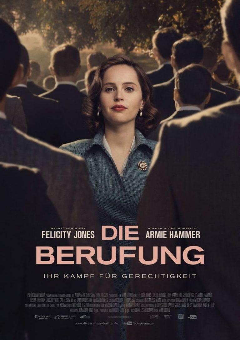 Die Berufung - Ihr Kampf für Gerechtigkeit (Poster)