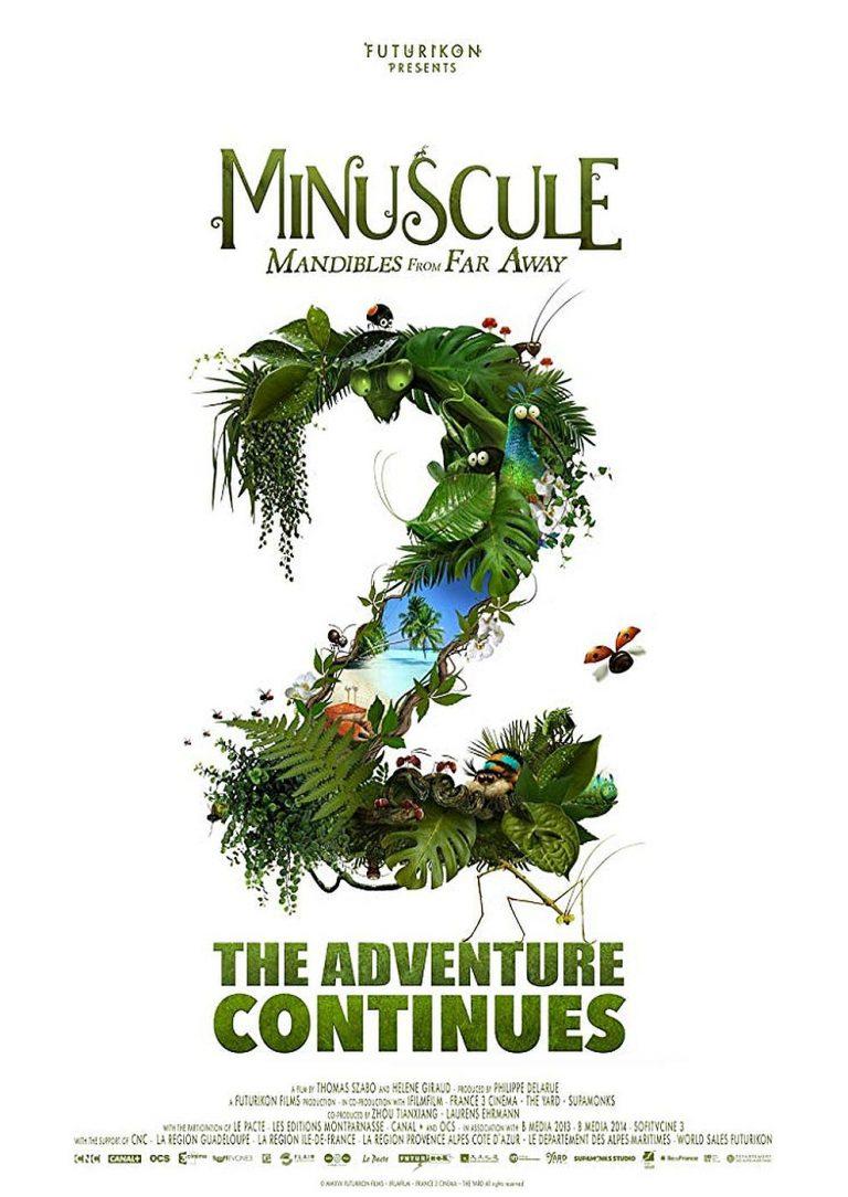 Die Winzlinge - Abenteuer in der Karibik (Poster)