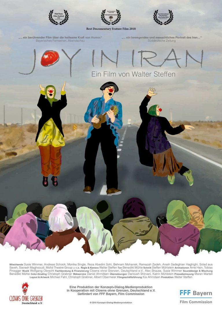 Joy in Iran (Poster)