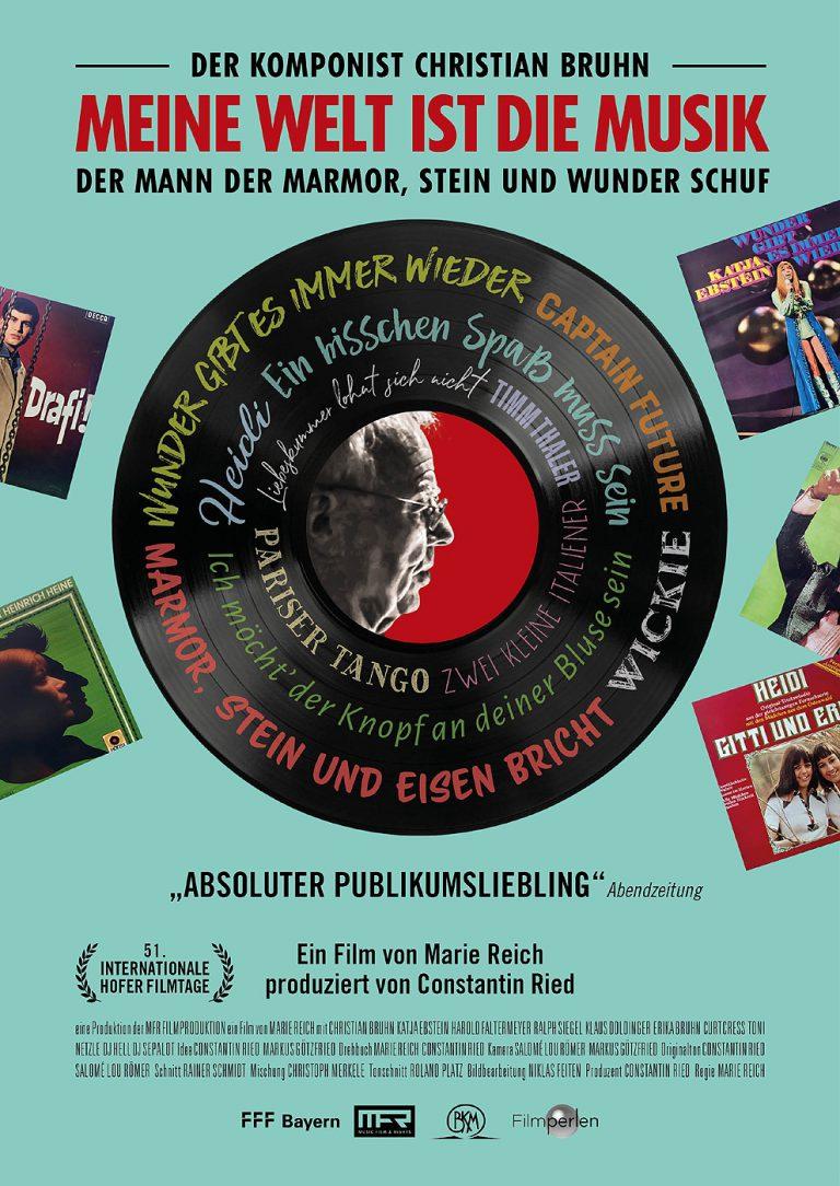 Meine Welt ist die Musik - Der Komponist Christian Bruhn (Poster)