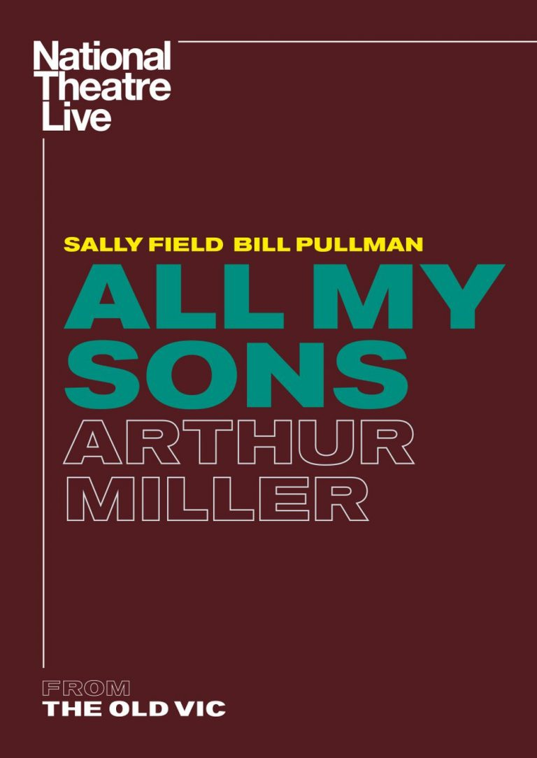 National Theatre Live All My Sons by Arthur Miller (Poster)
