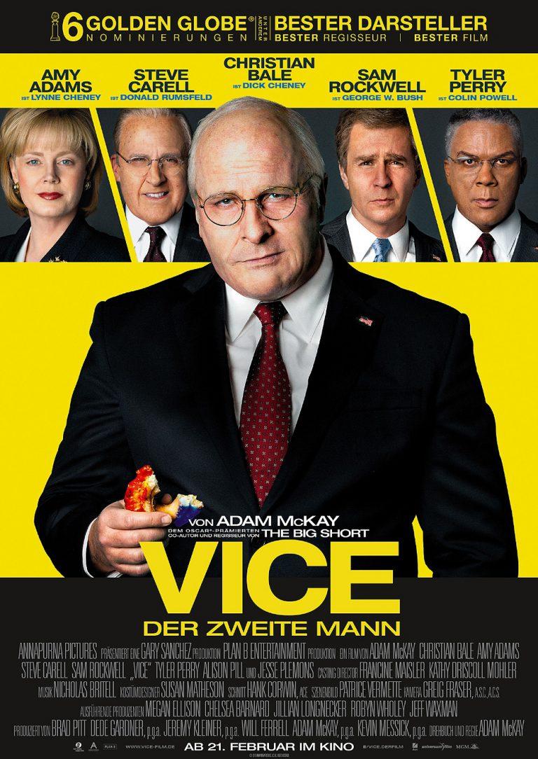 Vice - Der zweite Mann (Poster)
