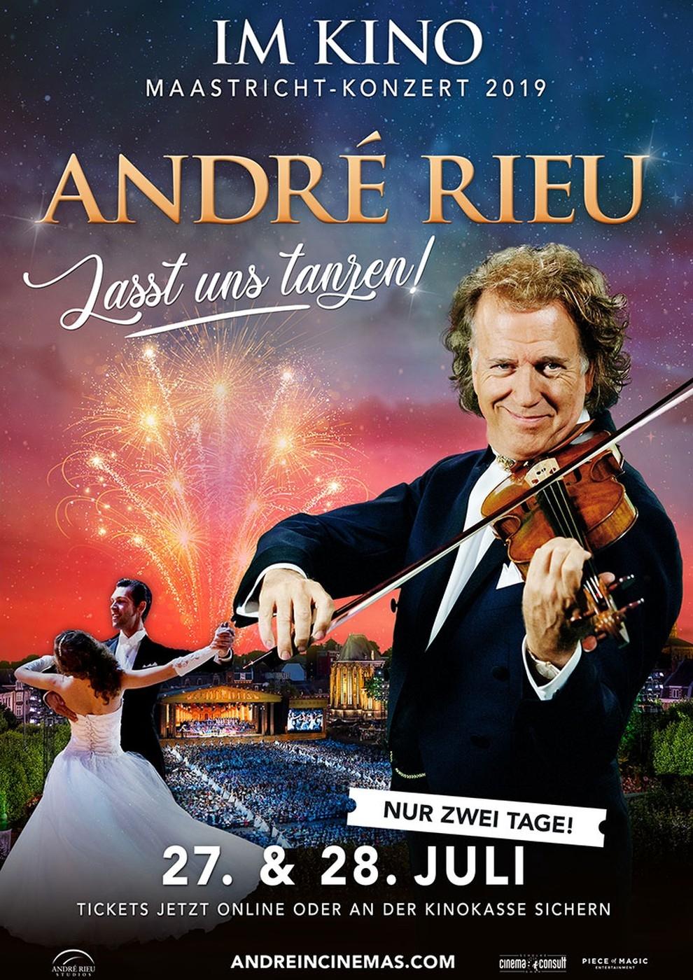 André Rieu - Maastricht-Konzert 2019: Lass uns tanzen! (Poster)