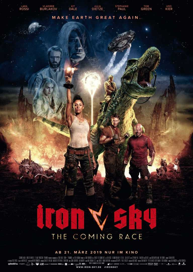 Double Feature: Iron Sky (Poster)