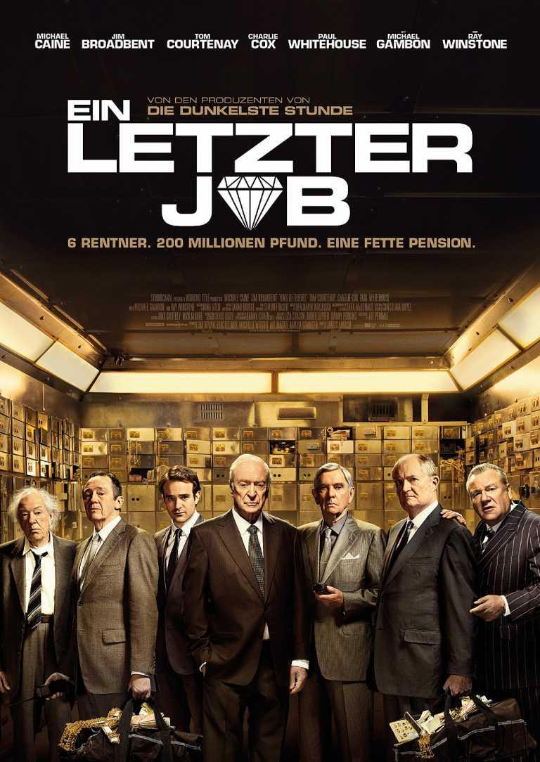 Ein letzter Job (Poster)