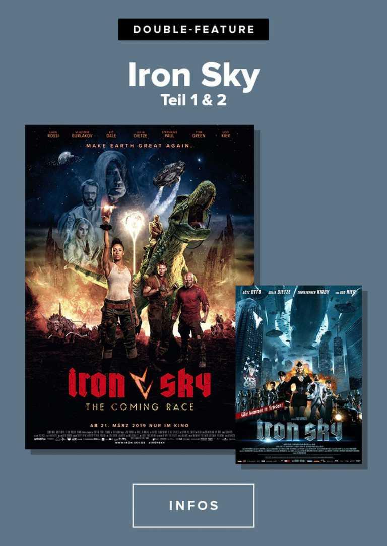 Iron Sky Directors Cut + Iron Sky The coming race (Poster)