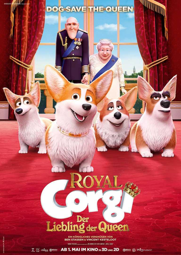 Royal Corgi - Der Liebling der Queen (Poster)