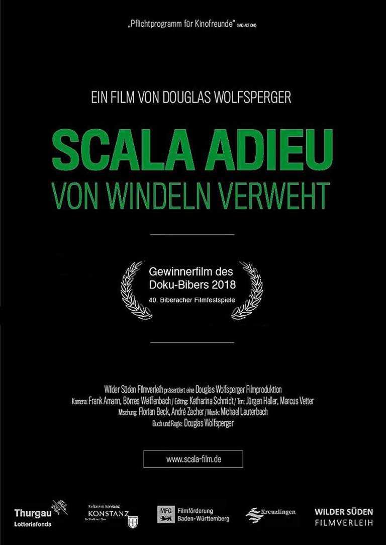 SCALA ADIEU - Von Windeln verweht (Poster)