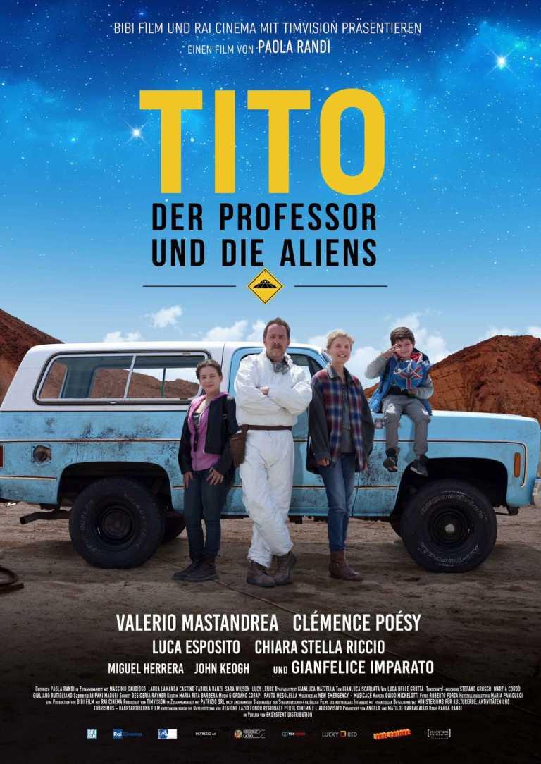 Tito, der Professor und die Aliens (Poster)