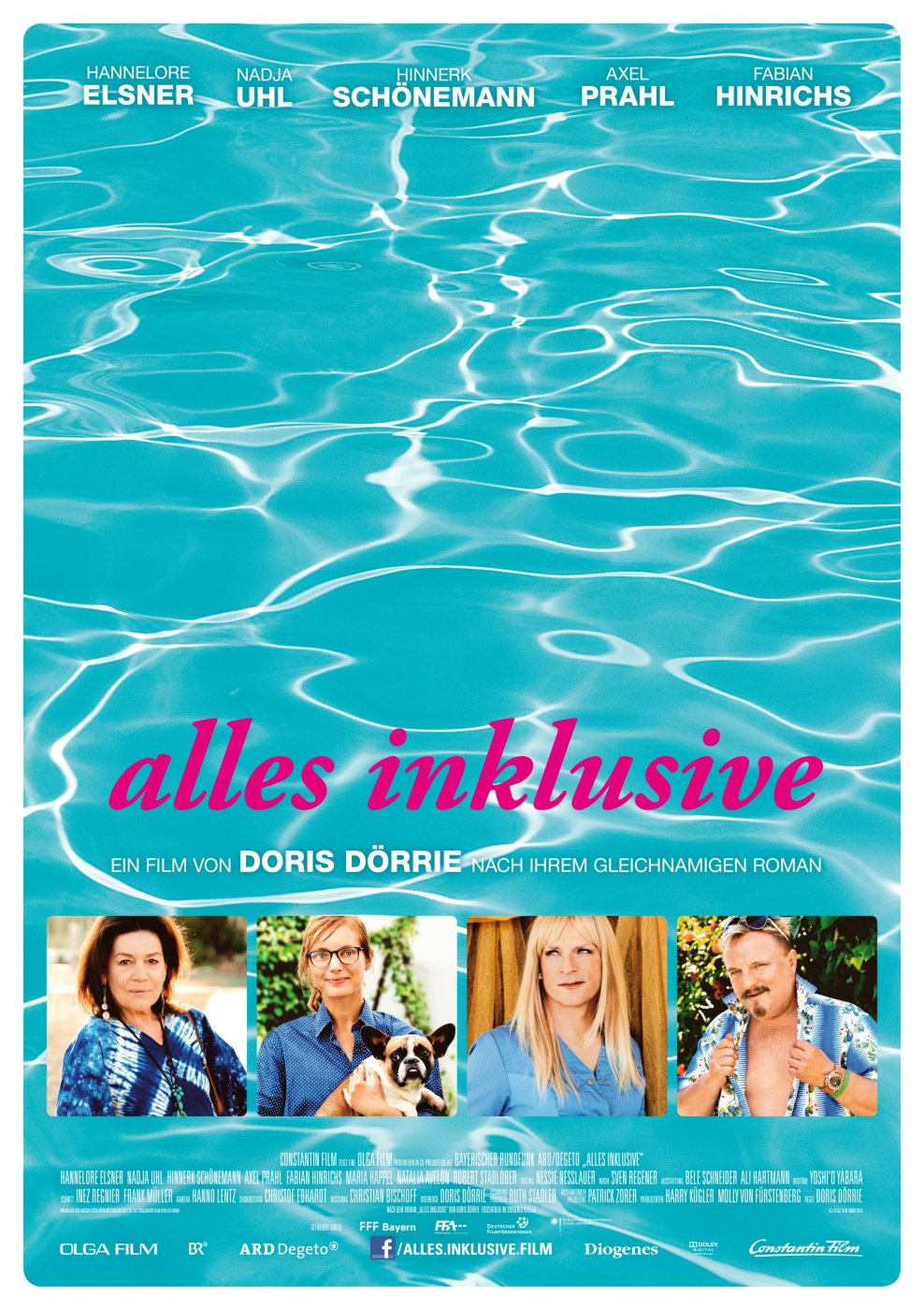 Alles inklusive (Poster)