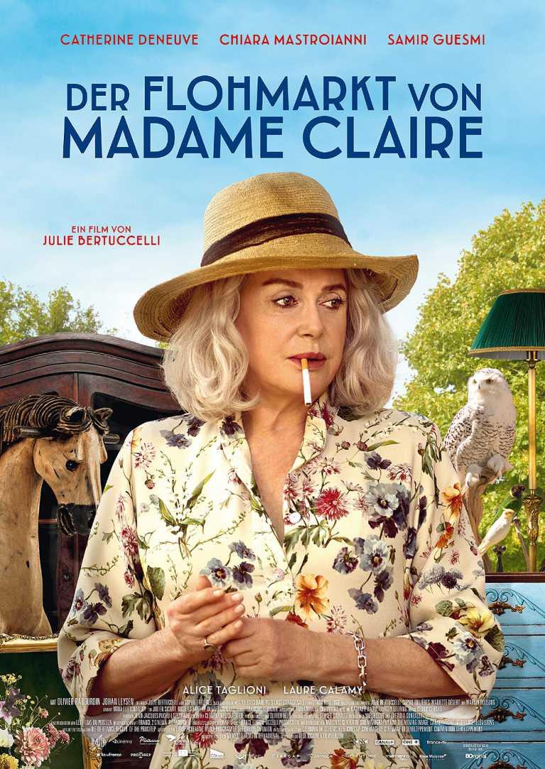 Der Flohmarkt von Madame Claire (Poster)
